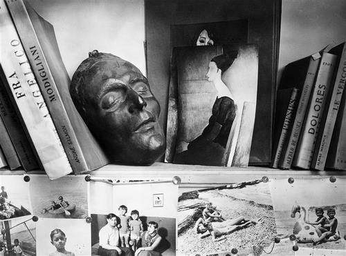 Kislings Atelier, 1933. Andrew Kerstesz